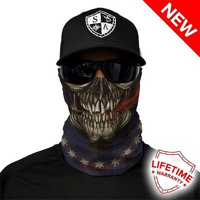 Biker Half Face Mask - Foundation Design - Premium Quality