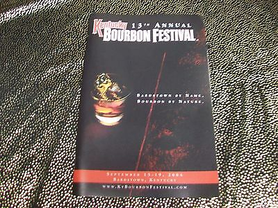 13th Annual Kentucky BOURBON FESTIVAL [2004] 50-Page Guidebook [Bardstown, KY]