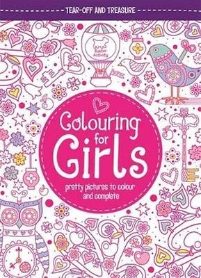 Colouring for Girls by Jessie Eckel Paperback Book