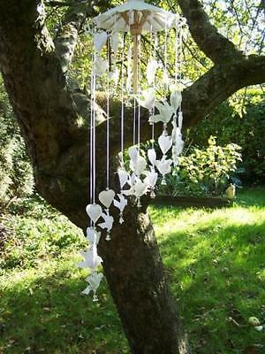 Wind Chime Garden Hanging Home Decor Outdoor Ornament Paper Handmade Mobile New