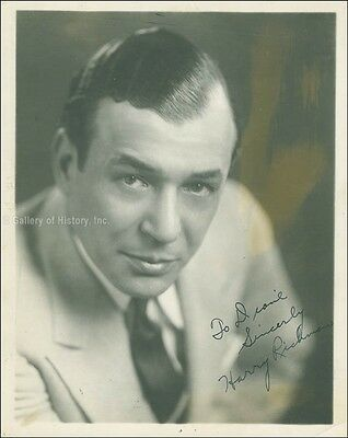 Harry Richman - Inscribed Photograph Signed