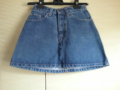 vintage Levis denim mini skirt  W24""
