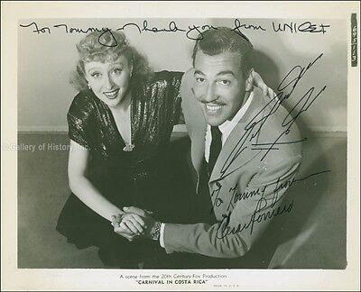 Carnival In Costa Rica Movie Cast - Inscribed Photograph Signed With Co-Signers