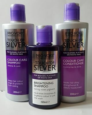 Touch of Silver Daily & Twice Weekly Purple Shampoo & Nourish Conditioner