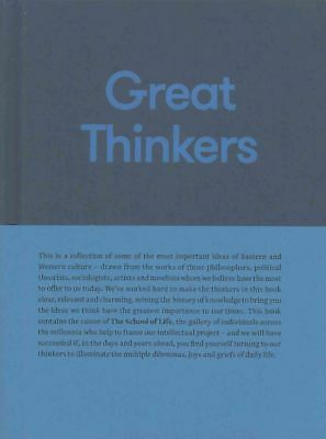 Great Thinkers by The School Of Life Hardcover Book