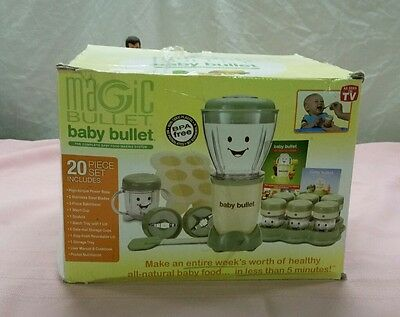 Magic Bullet Quot Baby Bullet Quot Care System 20pc Set New In