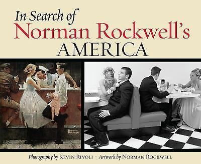 In Search of Norman Rockwell's America Hardcover Book - NEW
