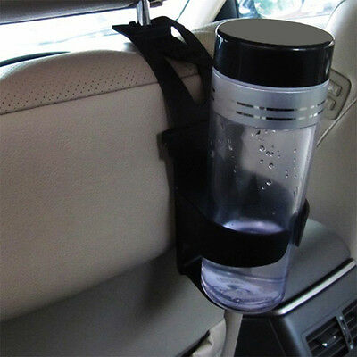 Black Universal Vehicle Car Truck Door Mount Drink Bottle Cup Holder Stand OS