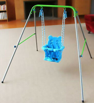 Indoor Outdoor Portable Baby Toddler Swing Set Kid Child Safety Playground New
