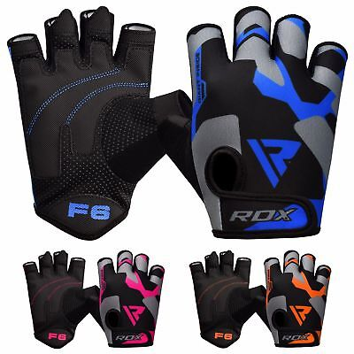 RDX Gym Weight Lifting Gloves Workout Fitness Bodybuilding Breathable Cozy F6