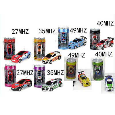 Coke Can Mini Speed RC Radio Remote Control Micro Racing Car Toy Gift New OSK