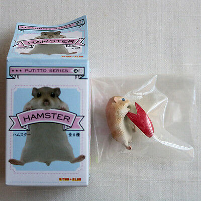 HAMSTER w/ Red Apple Ver. 4 Putitto Series Cute Mini Figure Kitan Club