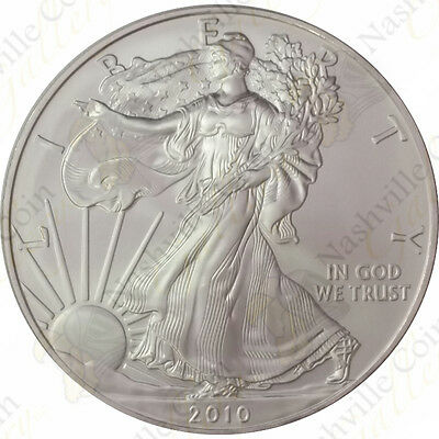 2010 1 oz American Silver Eagle – Brilliant Uncirculated – SKU #1404
