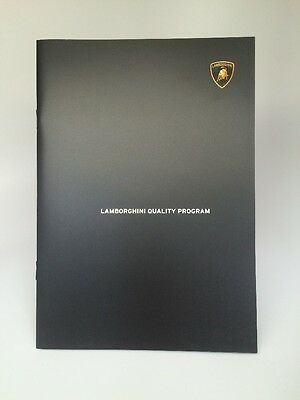 Lamborghini Official Pre-Owned Car Promotional Brochure Usa Edition