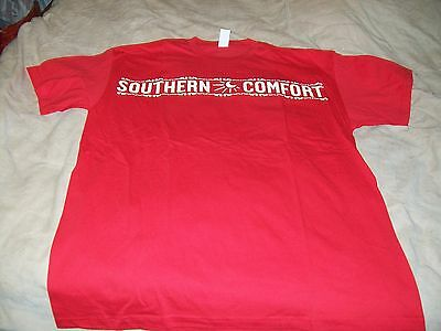 Southern Comfort Red T-Shirt - Xl - New