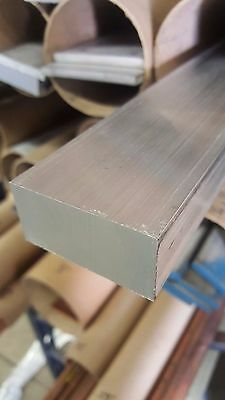 "1"" x 1 1/2'' Aluminum 6061 Flat Bar Mill Stock - 12"" length"