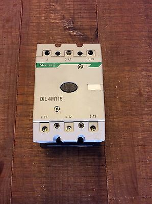 MOELLER DIL 4M115 115A CONTACTOR 55kW 3-PHASE With 230v Coil