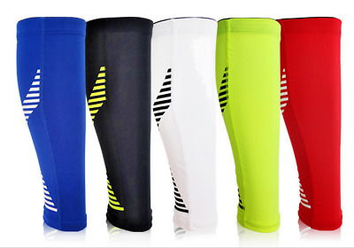 Exercise Calf Support Compression Leg Sleeve Sports Running Cycling Jogging New