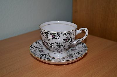 Tuscan Cup & Saucer Fine English Bone China Delicate Pink