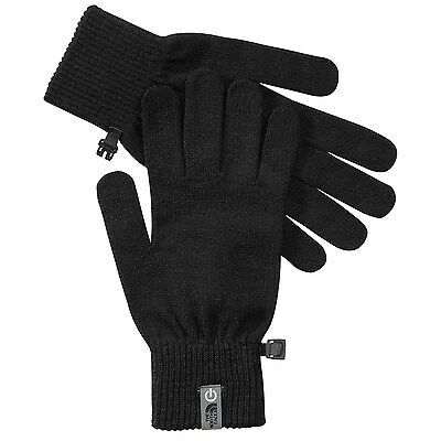 NEW $35 THE NORTH FACE MENS UNISEX MERINO WOOL ETIP GLOVE Size S-M Touch Screen
