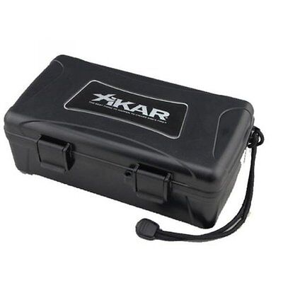 Xikar Travel Humidor - 10 Cigars Black - 210XI