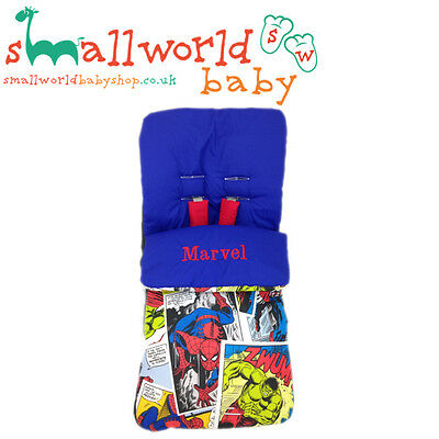 Personalised Boys Marvel Footmuff Cosytoes (NEXT DAY DISPATCH)