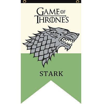 Game Of Thrones1 House Welcome Garden Patio Decor Flag Poster Banner Fabric Toy