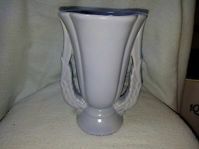 "Niloak Pottery Vase Winged Victory Handles 4 1/2""W x 7""H"