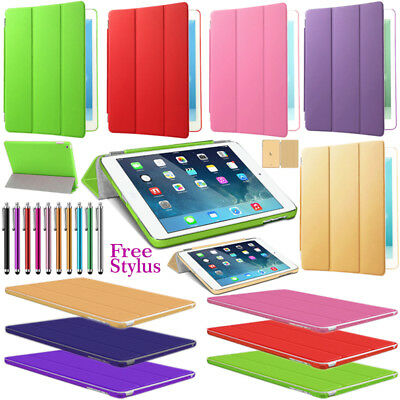 Smart Stand Magnetic Case Cover Apple New iPad 6th Generation 2018 5th 2017 9.7""