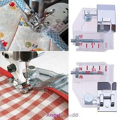 Singer Presser Foot For Adjustable Bias Binder Sewing Machine Janome Snap-on