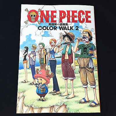 ONE PIECE Illustration Art Book COLOR WALK 2 / Japan Anime Eiichiro Oda Jump