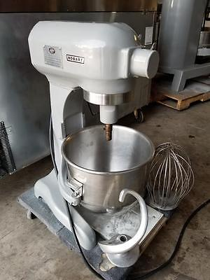 Hobart A-200 20 qt Mixer SS Bowl,New beater, hook,whip,Tested Works Good
