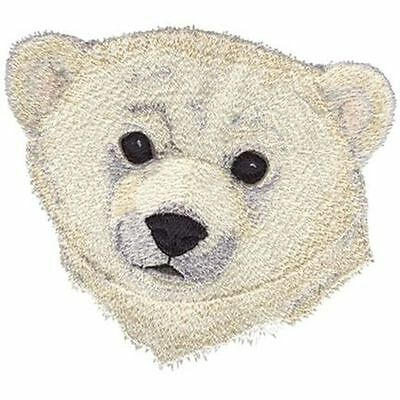 "Polar Bear Embroidered Patch 5.5""x 4.9"""