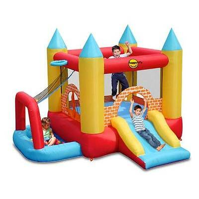 Happy Hop 4 in 1 Jumping Castle Play Centre with Ballpit