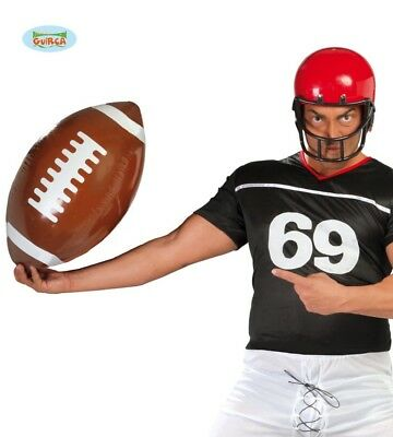 Pallone gonfiabile football americano rugby gigante 33 cm