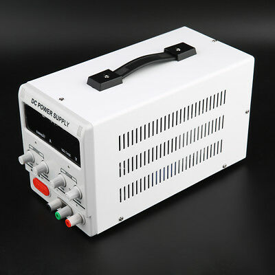 0-5A 0-30V Adjustable DC Power Supply Precision Variable Digital Lab W/ Clip UK
