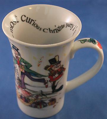 Alice's Christmas Tea Party Coffee Mug 150th Anniversary Edition Cup Paul Cardew