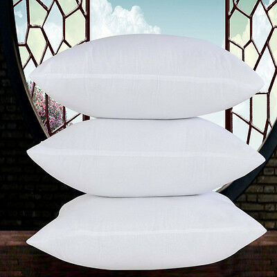 Pillow Core Square Throw Pillow Inner Sofa Back Support Cushion Insert Filler