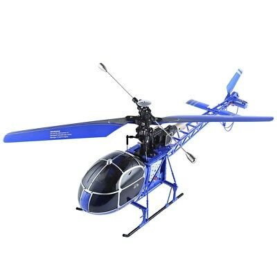 WLtoys V915 Lama 4CH 2.4G 6 Axis Gyro 2 Modes RC Helicopter BLUE COLOR - RTF