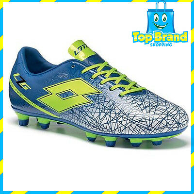 Lotto Kids  Junior Spider 700 XIII Soccer Football Nrl Boots BLUE S7256