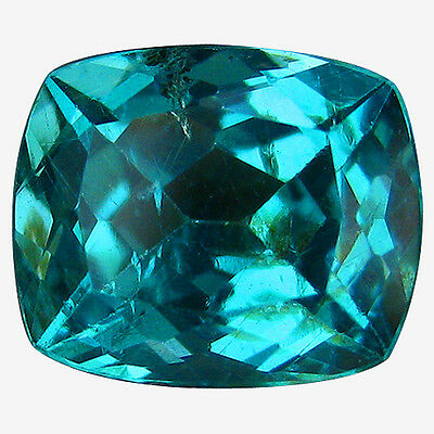 1.30 Ct 100% Sizzling Rarest Natural Good Luster Paraiba Blue Apatite Gemstones