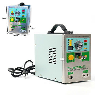 709AD+ Automatic Induction Trigger Discharging Spot Welder & Soldering Station