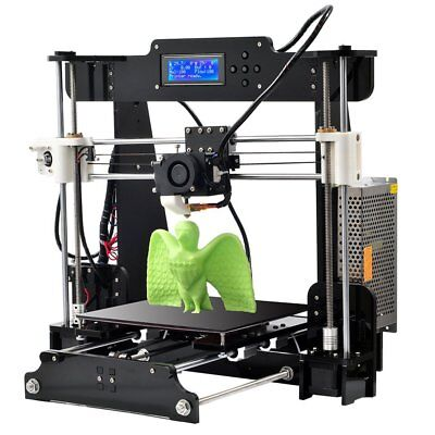 2017 Upgraded Full Quality High Precision DIY 3D Printer MK8 LCD Auto Leveling