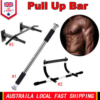 Sports Bar Door Pull Up Doorway Gym Exercise Workout Fitness Trainning 3 Styles