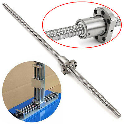 SFU1204 L500mm Rolled Ball Screw C7 With Single Ballscrew Nut For BK/BF10 CNC