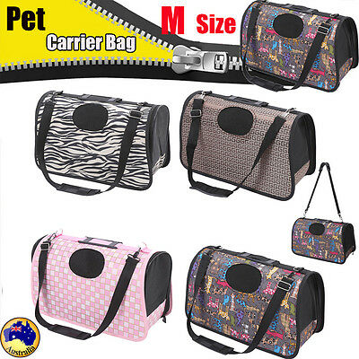 Convenient Pet/Dog/ Cat Travel Carrier Bag Cage Soft Handbag Travel Outdoor AU