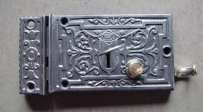 Victorian Russel & Erwin Decorative Cast Iron L/H Front Door Lock
