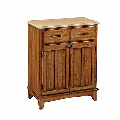 Home Styles 5001-0061 5001 Series Wood Top Storage Buffet, Cottage Oak,