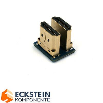 Dual HDMI Stecker für Raspberry Pi Display Connector ZB02205