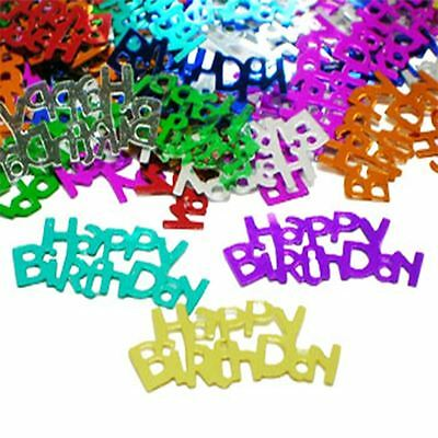 14g Multi-Colour Birthday Table confetti - fab gold stardust at a great price